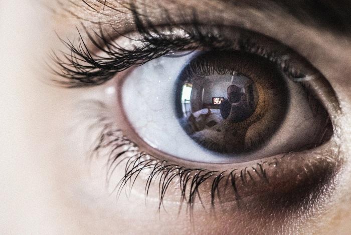Test zraku v ordinácii