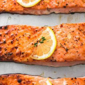 Pripravte pečeného lososa ako z reštaurácie!